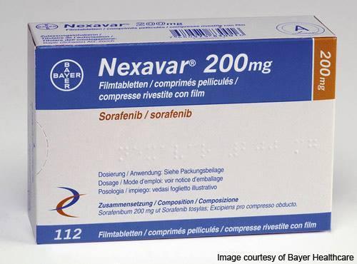 Нексавар ( Nexavar) 200мг сорафениб Байер, Германия